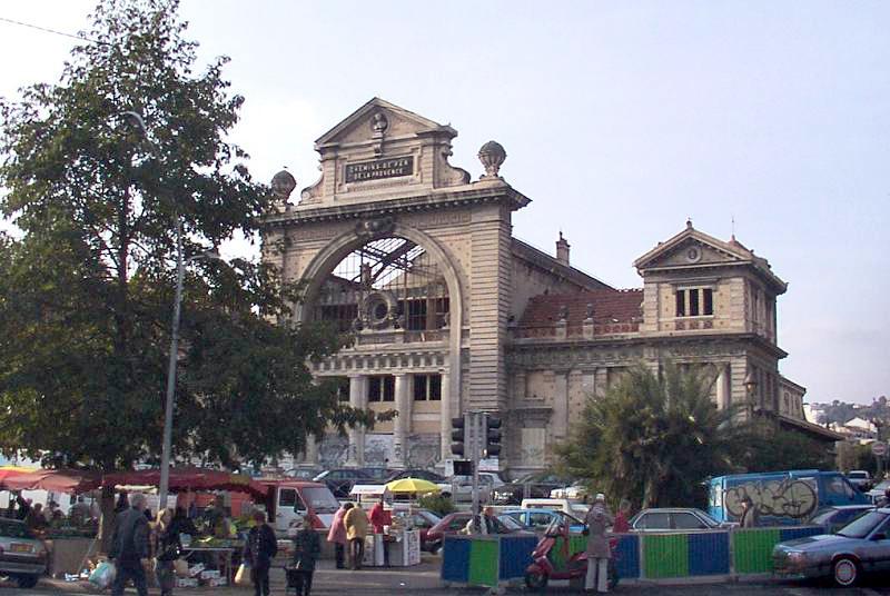 Photo du Monument Historique Ancienne gare du Sud situé à Nice