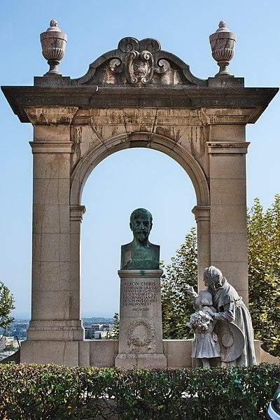 Photo du Monument Historique Monument à Léon Chiris situé à Grasse