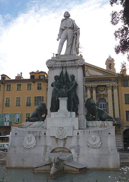 Photo du Monument Historique Monument à Garibaldi situé à Nice