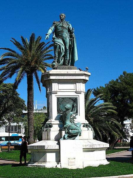 Photo du Monument Historique Monument au Maréchal Masséna situé à Nice