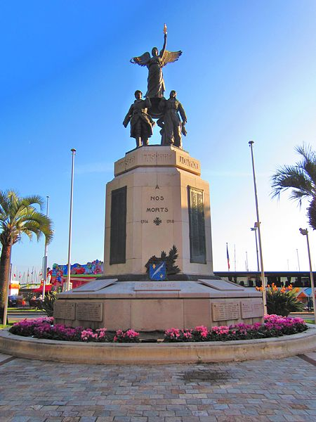 Photo du Monument Historique Monument aux morts de la guerre de 1914-1918 situé à Cannes