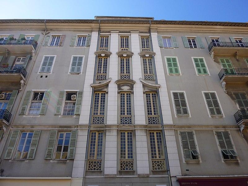 Photo du Monument Historique Palais Hongran situé à Nice