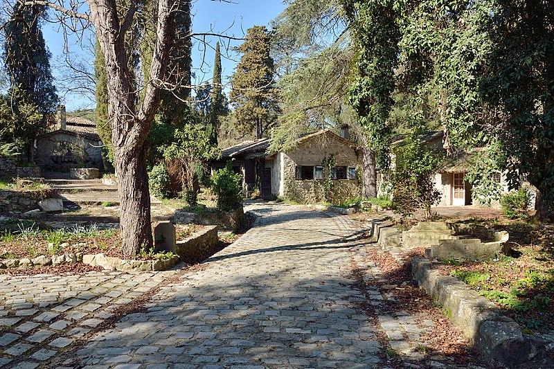 Photo du Monument Historique Domaine des Trois Moulins de la Valmasque (également sur commune de Vallauris) situé à Valbonne