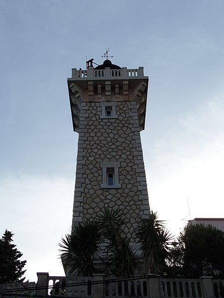 Photo du Monument Historique Phare de Vallauris situé à Vallauris