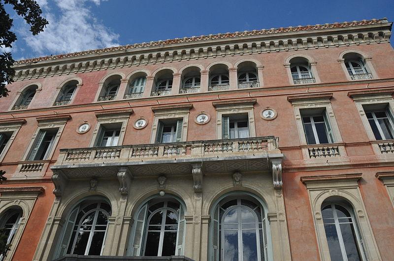 Photo du Monument Historique Villa Schmitz situé à Nice