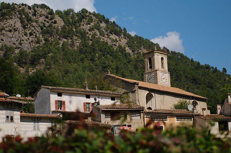 Photo du Monument Historique Eglise paroissiale Sainte Arige situé à Roquesteron