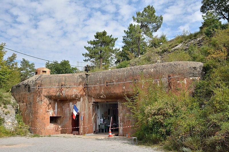 Photo du Monument Historique Ouvrage de l'Agaisen EO III situé à Sospel