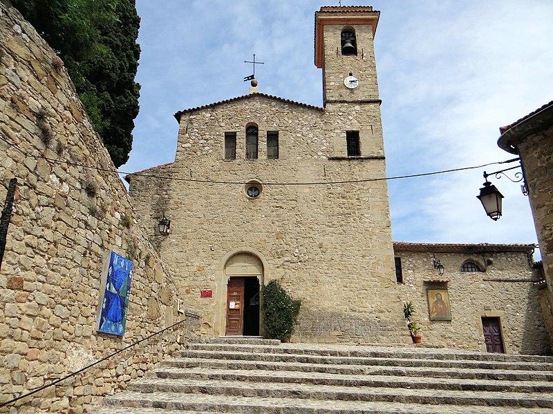 Photo du Monument Historique Eglise paroissiale Saint-Jean-Baptiste situé à Coaraze