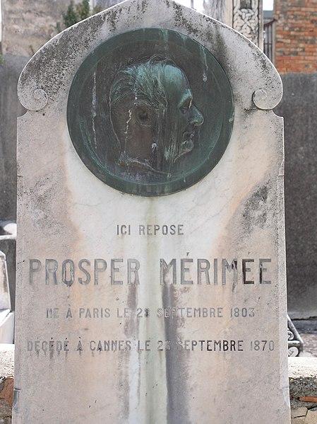 Photo du Monument Historique Tombeau de Prosper Mérimée situé à Cannes