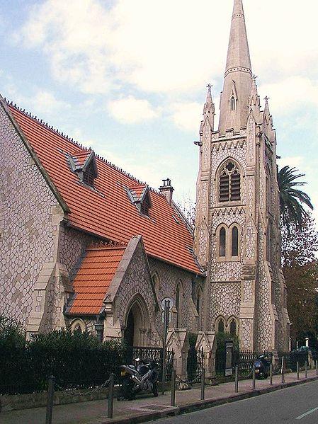 Photo du Monument Historique Temple Saint-Esprit, ancienne église épiscopalienne américaine Holy Spirit Church situé à Nice