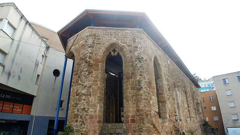 Photo du Monument Historique Chapelle Sainte-Claire situé à Annonay