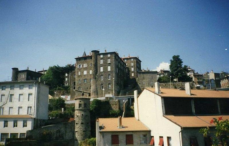 Photo du Monument Historique Couvent Sainte-Marie situé à Annonay