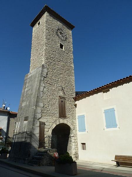 Photo du Monument Historique Tour de l'Horloge situé à Baix