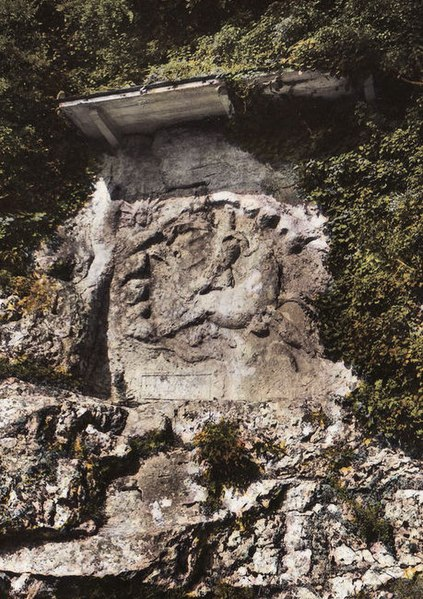 Photo du Monument Historique Bas-relief mithriaque situé à Bourg-Saint-Andéol