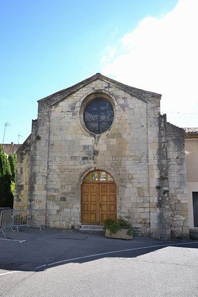 Photo du Monument Historique Chapelle Saint-Polycarpe situé à Bourg-Saint-Andéol
