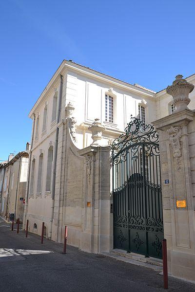 Photo du Monument Historique Hôtel Doyse situé à Bourg-Saint-Andéol