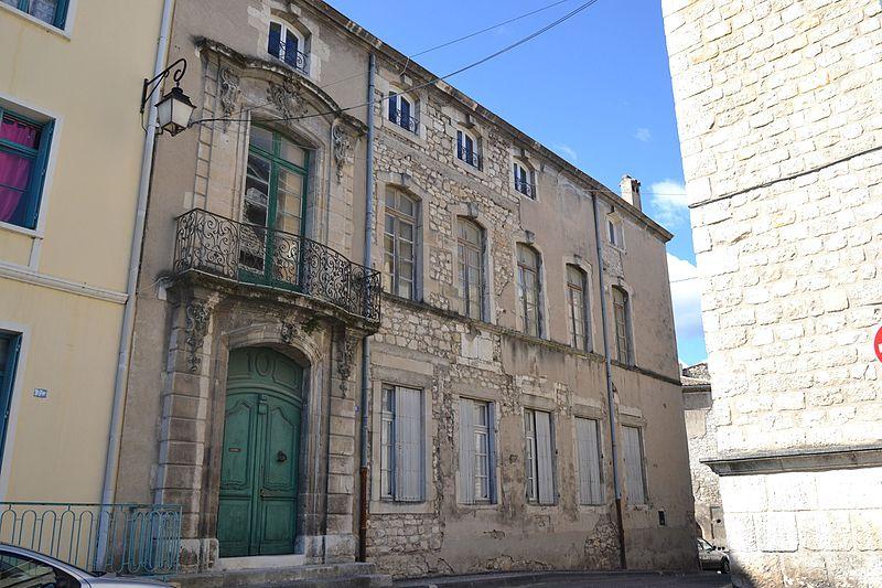 Photo du Monument Historique Hôtel Pontal de Megret situé à Bourg-Saint-Andéol