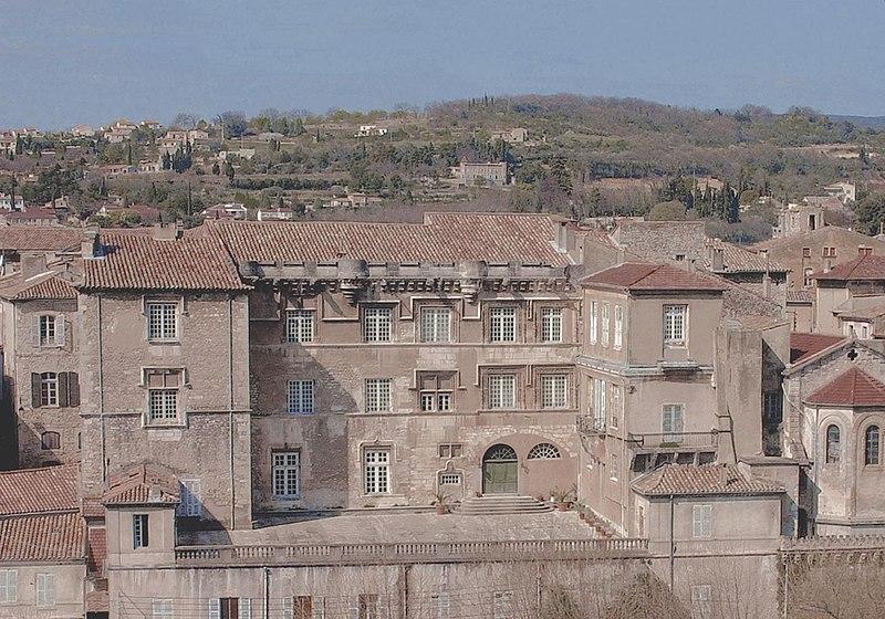 Photo du Monument Historique Ancien Palais des Evêques situé à Bourg-Saint-Andéol