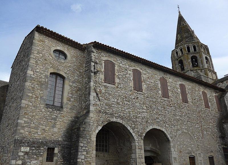 Photo du Monument Historique Presbytère situé à Bourg-Saint-Andéol