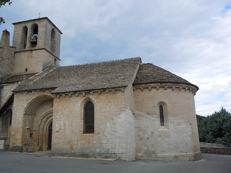 Photo du Monument Historique Eglise situé à Chambonas