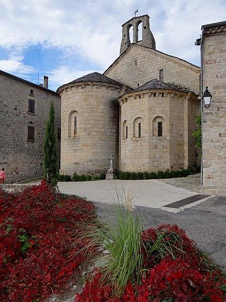Photo du Monument Historique Chapelle double des Pénitents situé à Chassiers