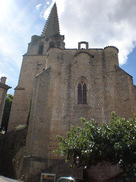 Photo du Monument Historique Eglise situé à Chassiers