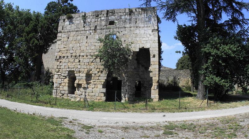 Photo du Monument Historique Monastère situé à Colombier-le-Cardinal