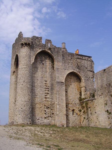 Photo du Monument Historique Château (ruines) situé à Cruas