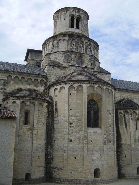 Photo du Monument Historique Eglise situé à Cruas