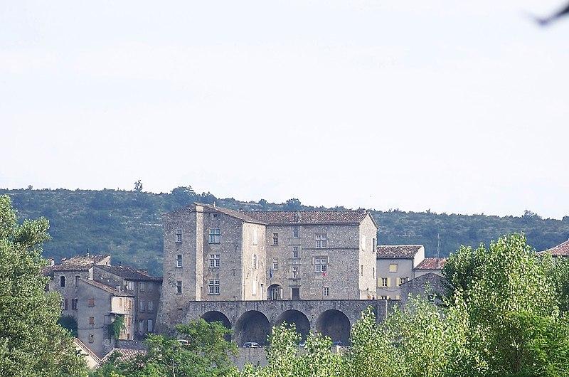 Photo du Monument Historique Château situé à Joyeuse
