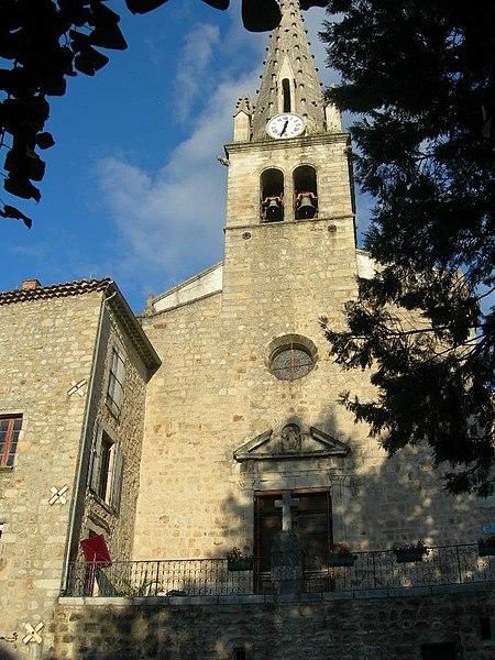 Photo du Monument Historique Eglise Saint-Pierre situé à Joyeuse
