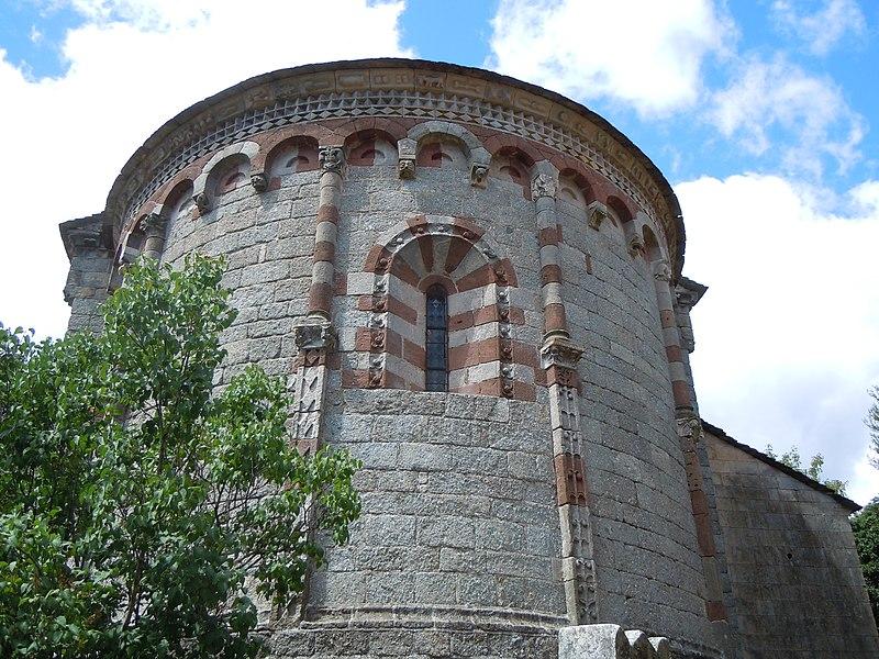 Photo du Monument Historique Eglise de Thines situé à Malarce-sur-la-Thines