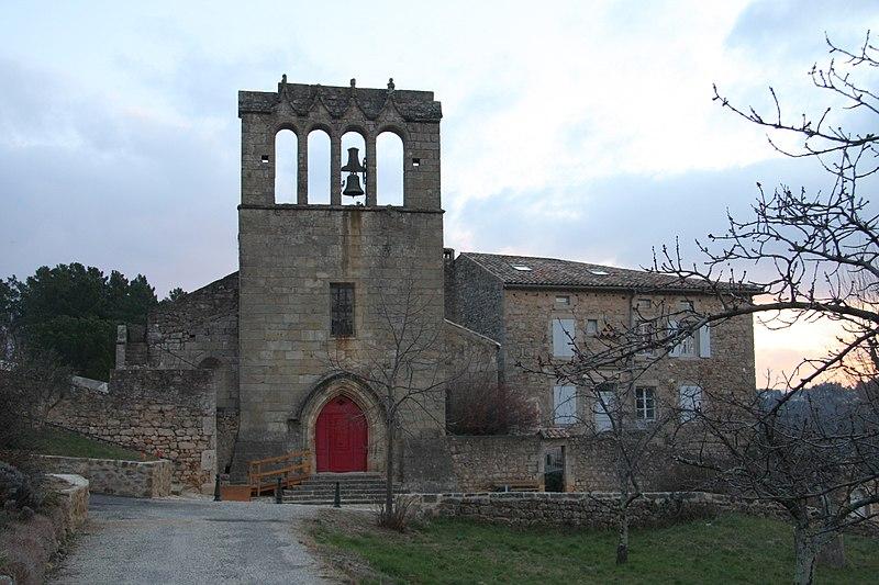 Photo du Monument Historique Eglise situé à Mercuer