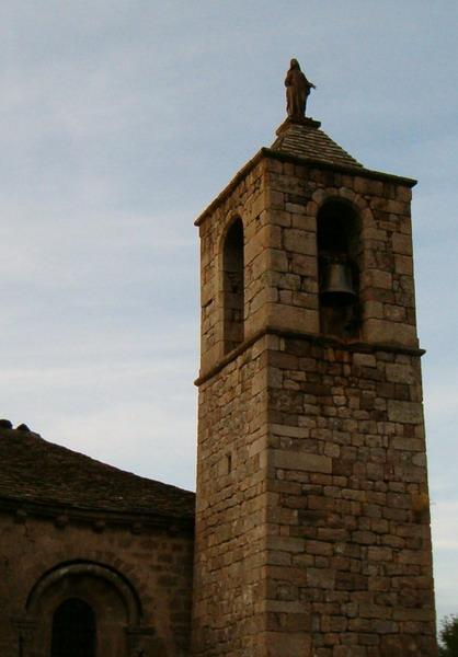 Photo du Monument Historique Eglise (à l'exception de la sacristie et du clocher) situé à Montselgues