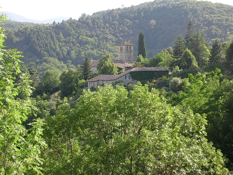 Photo du Monument Historique Eglise de Nieigles situé à Pont-de-Labeaume