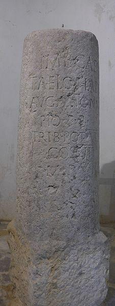 Photo du Monument Historique Borne milliaire gallo-romaine situé à Privas