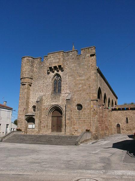 Photo du Monument Historique Eglise situé à Quintenas