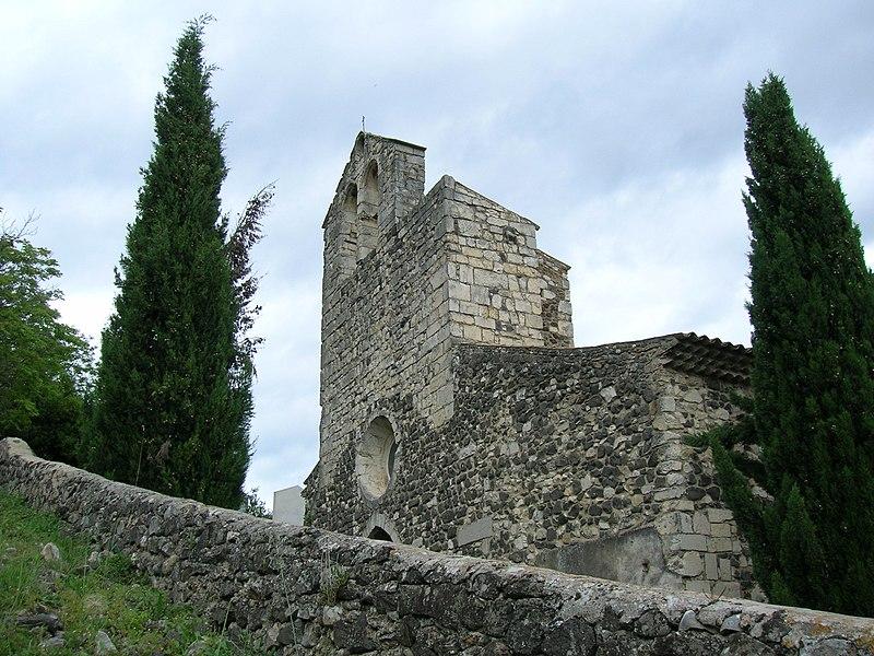 Photo du Monument Historique Chapelle Notre-Dame-des-Anges situé à Rochemaure