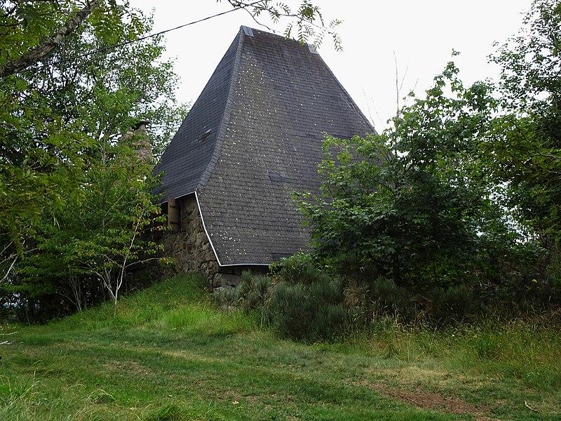 Photo du Monument Historique Ferme dite La Grangeasse situé à Sagnes-et-Goudoulet