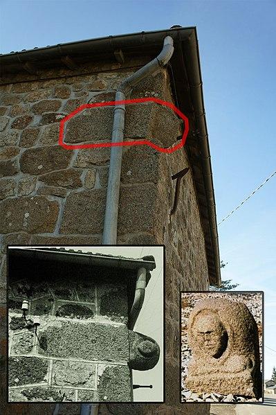 Photo du Monument Historique Statue-menhir dite de Lichessol situé à Saint-Agrève