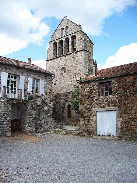 Photo du Monument Historique Eglise situé à Saint-André-Lachamp