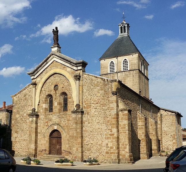 Photo du Monument Historique Eglise situé à Saint-Félicien