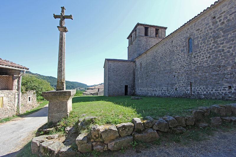 Photo du Monument Historique Croix situé à Saint-Symphorien-de-Mahun