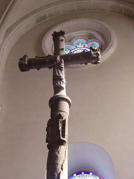 Photo du Monument Historique Croix de chemin situé à Satillieu
