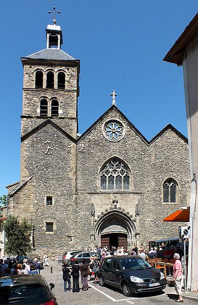 Photo du Monument Historique Eglise Saint-Julien situé à Tournon-sur-Rhône
