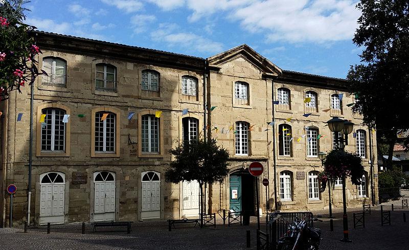 Photo du Monument Historique Hôtel du Marquis de la Tourette situé à Tournon-sur-Rhône