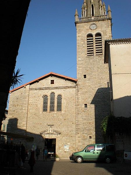 Photo du Monument Historique Eglise situé à Les Vans