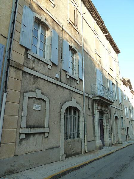 Photo du Monument Historique Gendarmerie situé à Villeneuve-de-Berg