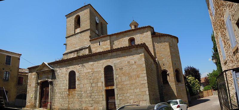 Photo du Monument Historique Eglise situé à Vinezac