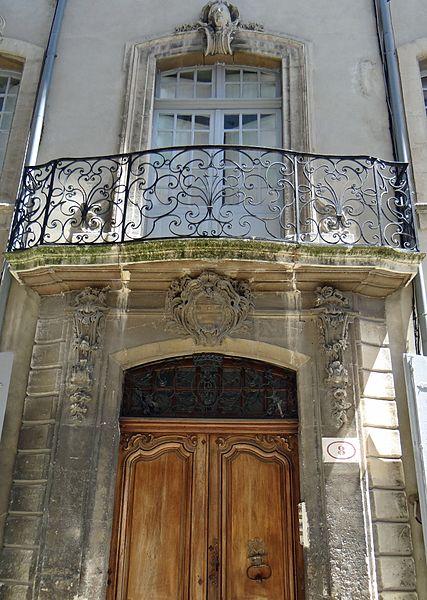 Photo du Monument Historique Hôtel de Fontanes dit de Beaulieu situé à Viviers